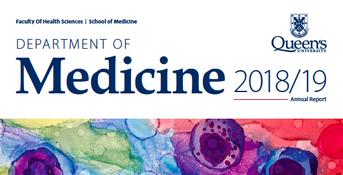 Department of Medicine - Annual Report 2018