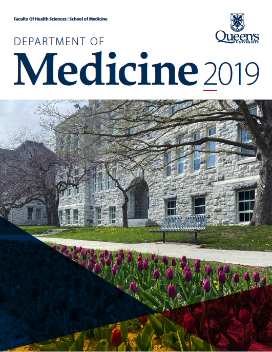 Department of Medicine Annual Report - 2019