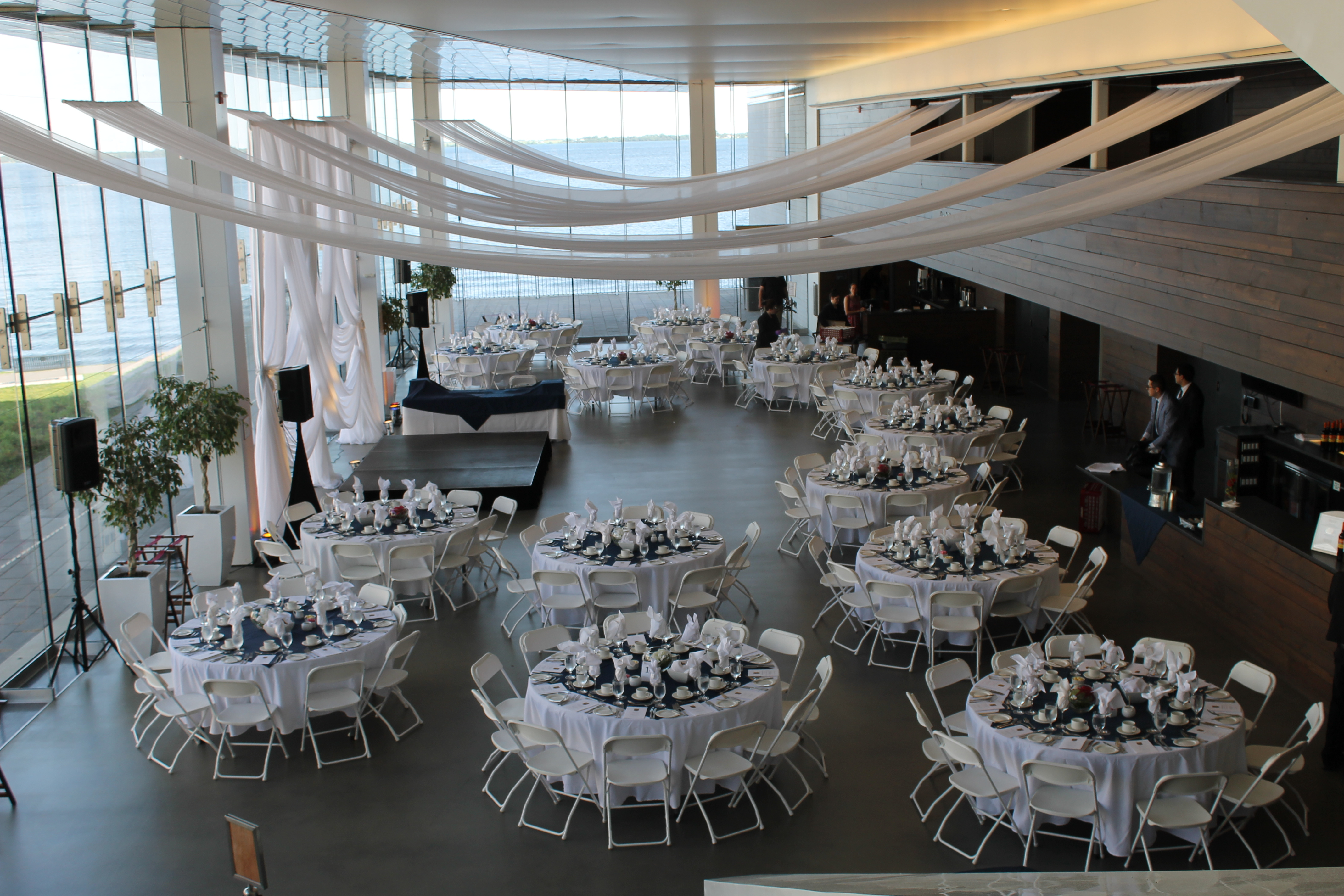 Overview                                                    -                            Last Call Ball is hosted annually at the beautiful waterfront Isable Bader Centre