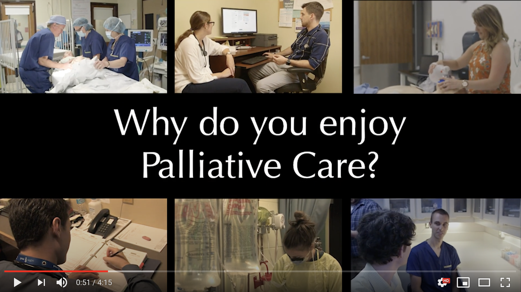 Video Title: Palliative Medicine Promotional CaRMS Video