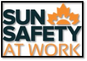 sun safety at work logo