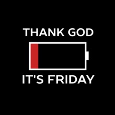 TGIF low battery sign