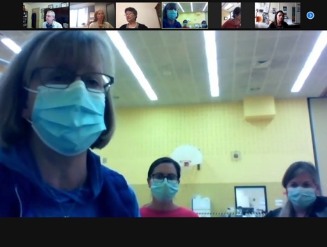 screen shot of zoom meeting