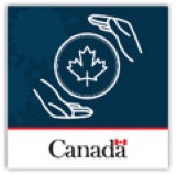 screenshot of app logo two hands holding a maple leaf