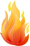 animated picture of a flame