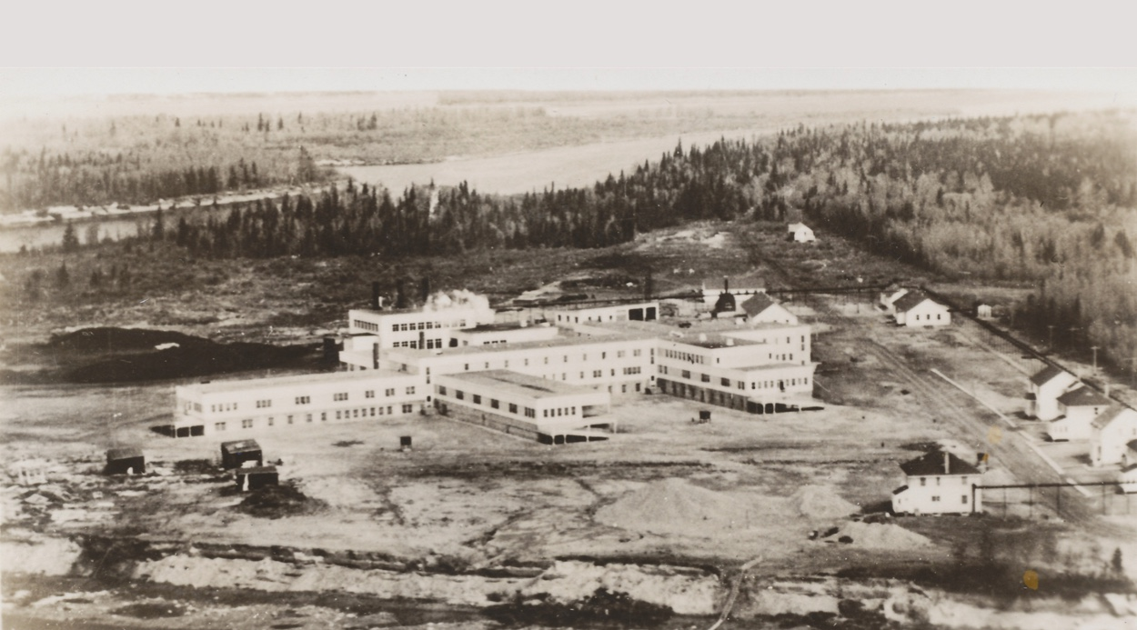 image of first hospital in Moose Factory, ON